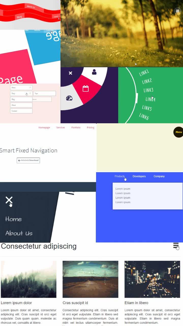 87 Navigation Menu Design Inspiration Html Css Snippets 3 ℂ𝕠𝕕𝕖𝕄𝕪𝕌𝕀