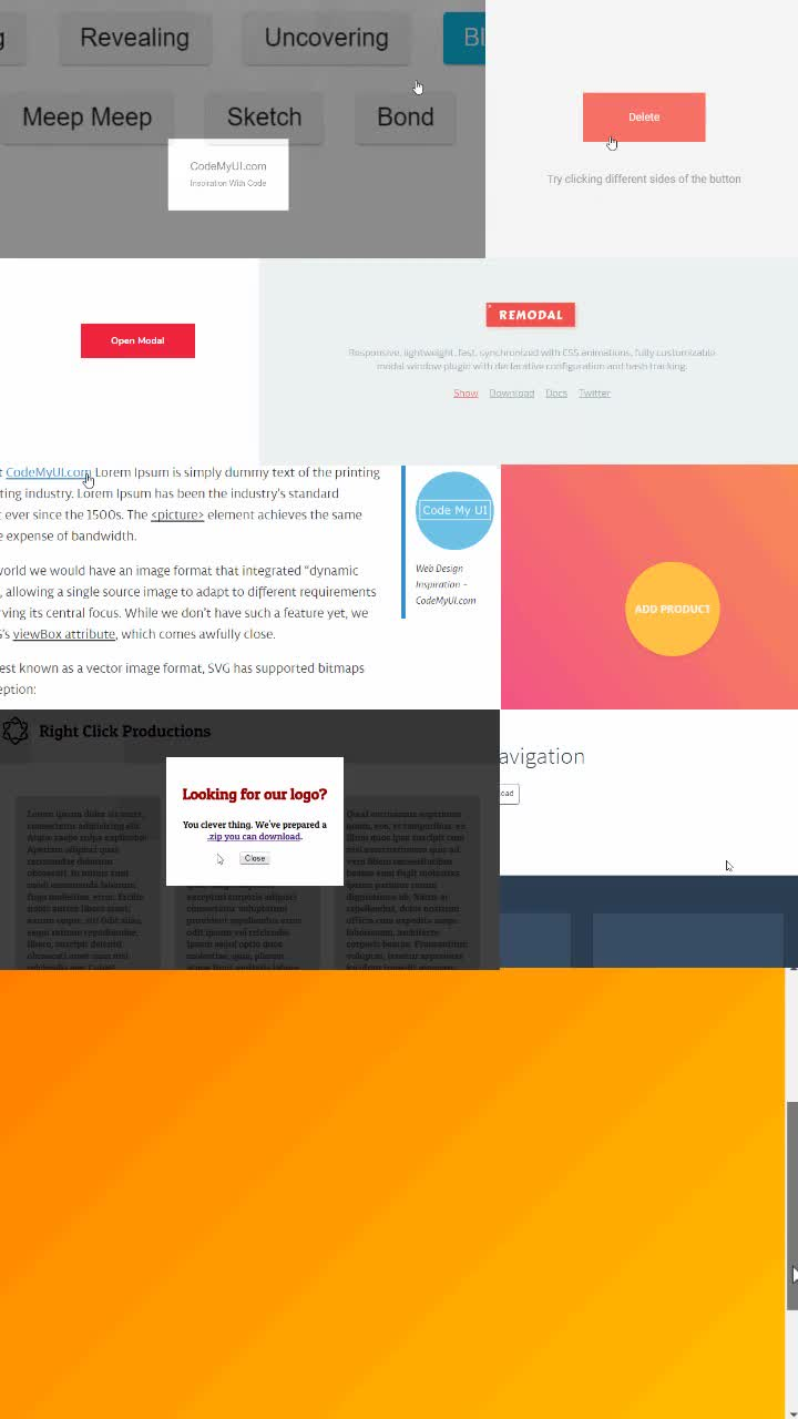 32 Modal Window Design Inspiration Html Css Snippets 3 ℂ𝕠𝕕𝕖𝕄𝕪𝕌𝕀